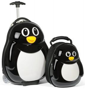 penguin-suitcases-kids-luggage-set