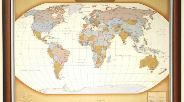 personalized-travel-map-in-frame