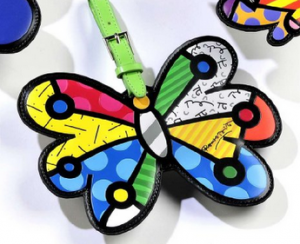 fun-luggage-tag-butterfly-romero-britto