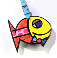 fun-luggage-tags-fish-by-romero-britto