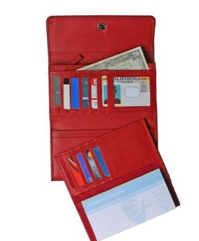 best-leather-rfid-blocking-wallet-checkbook-red