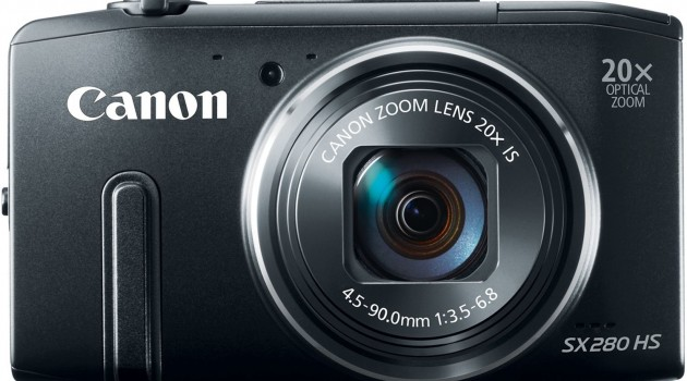 Canon-PowerShot-SX280-HS-review-front-view