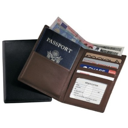 Leather-Travel-Wallet-Leather-Blocking-Passport-Currency-Wallet
