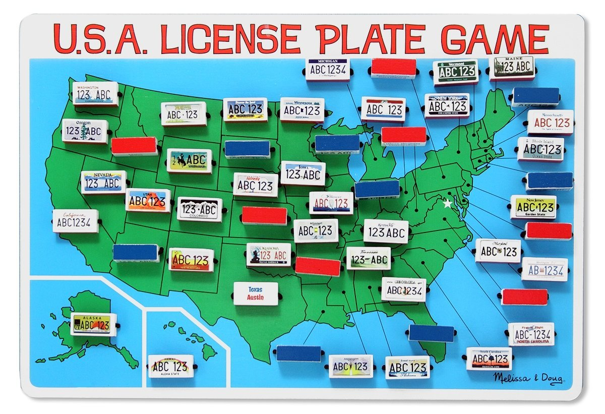 12 Fun Road Trip Games for Kids, Teens, and Adults - Travel ... License Plate Usa Map Gift on watercolor usa map, license plates for each state, time usa map, color usa map, golf usa map, reverse usa map, driving usa map, leapfrog interactive united states map, list 50 states and capitals map, flag usa map, motorcycle usa map, decals usa map, state usa map, baseball usa map, basketball usa map, license plate map art, paint usa map, license plate world map, map usa map, art usa map,