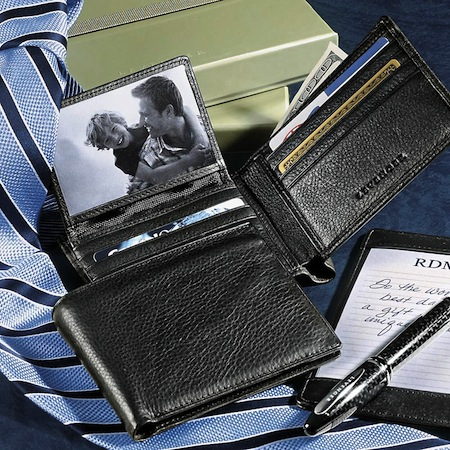 Leather-Travel-Wallet-Security-Passcase-Wallet