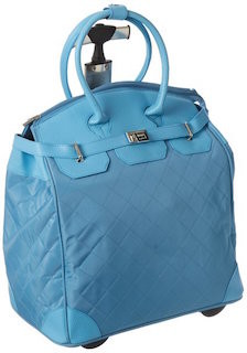 laptop-bags-for-women-travelers-blue-quilted