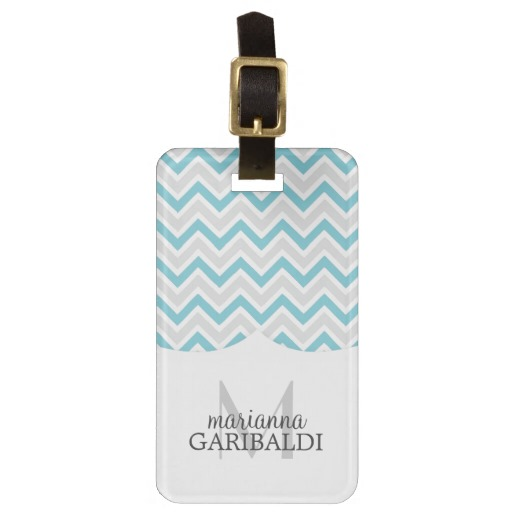 personalized-luggage-tags-blue-modern-mongram