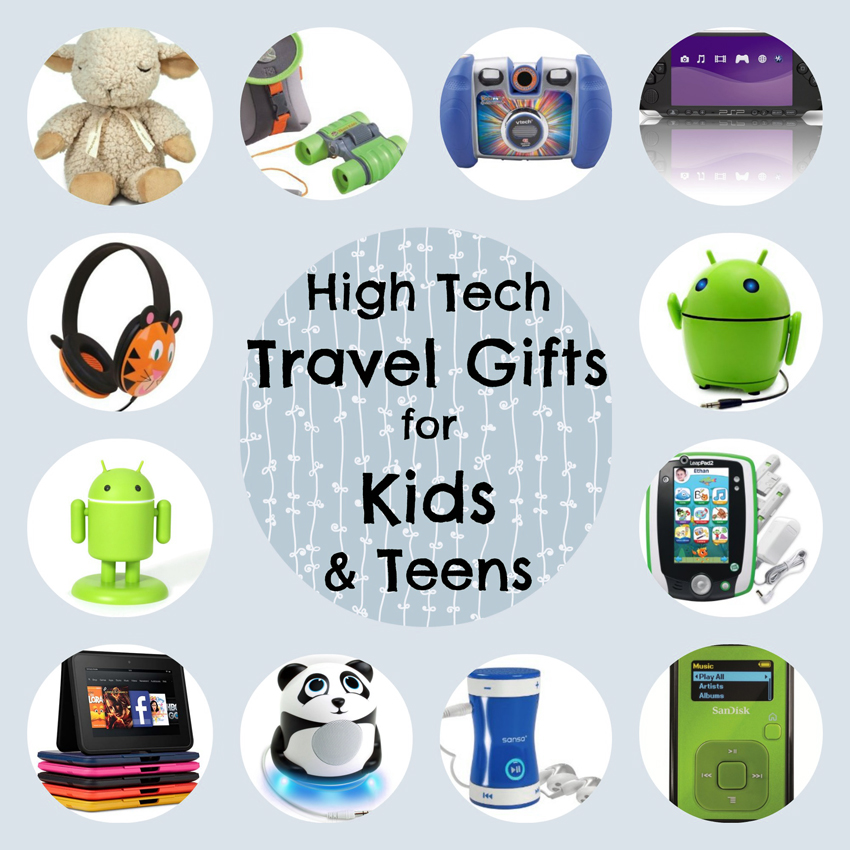 high-tech-travel-gifts-for-kids-collage