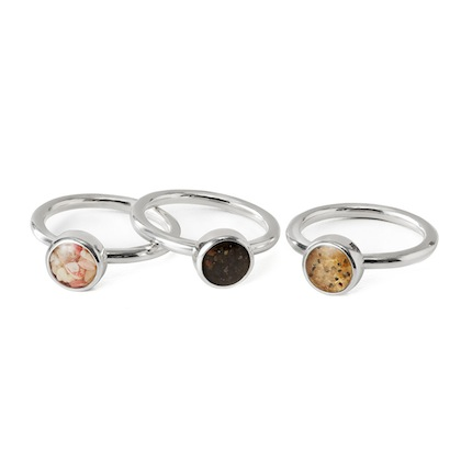 romantic-gifts-for-travelers-custom-beach-stacking-rings-set-of-three