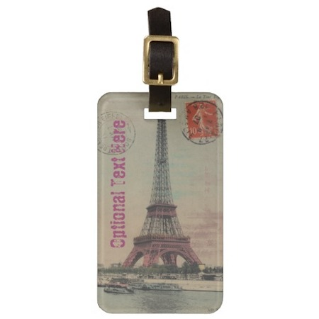 personalized-luggage-tags-eiffel-tower-vintage-french
