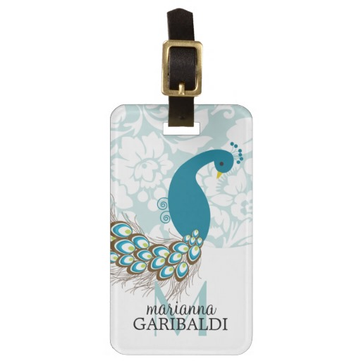personalized-luggage-tags-peacock