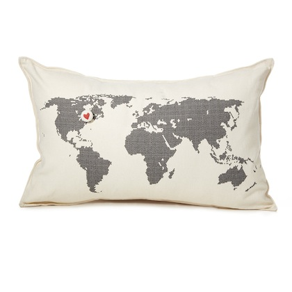 romantic-gifts-for-travelers-heart-marks-the-spot-pillow