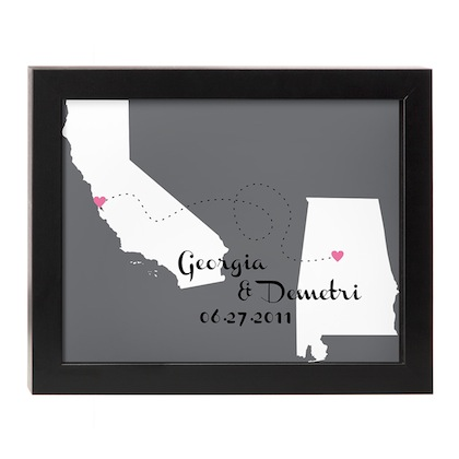 romantic-gifts-for-travelers-love-will-find-a-way-personalized-art