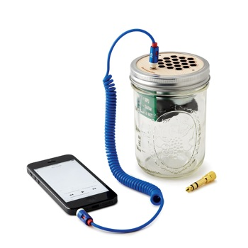 travel gifts for music lovers mason jar speaker