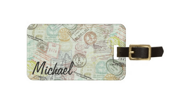 personalized-luggage-tags-passport-stamps