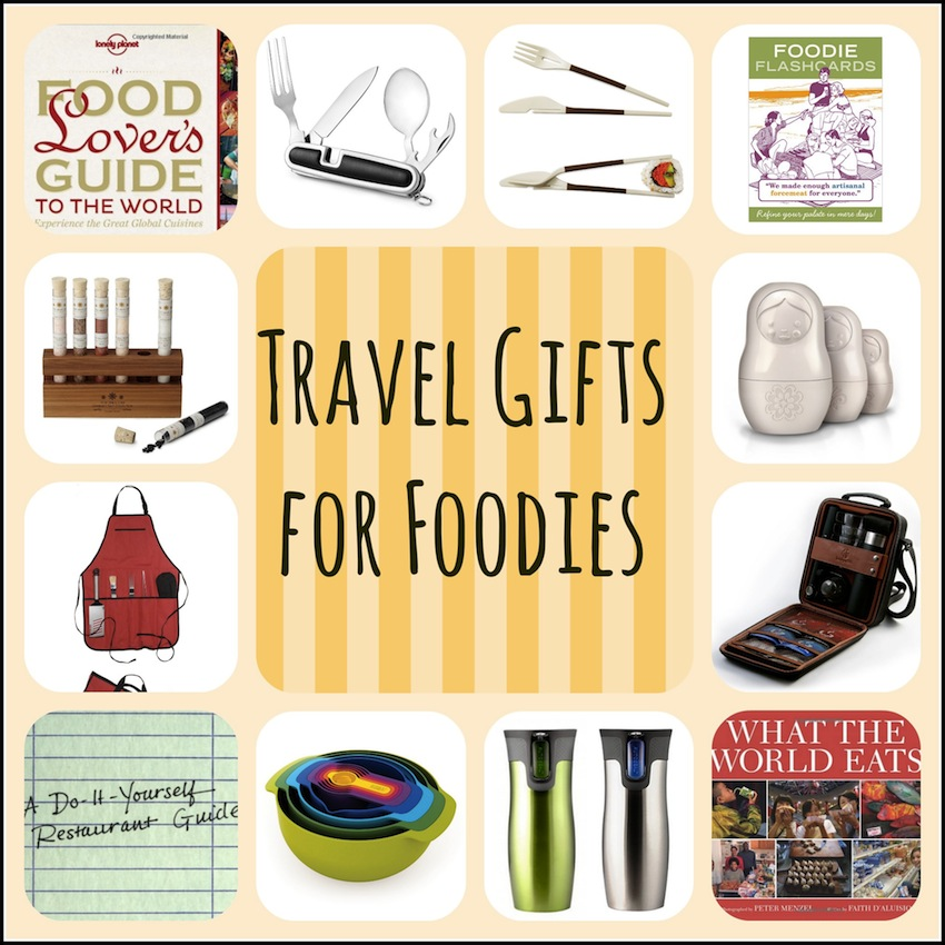 10 fun travel gifts for foodies travel gift list. Black Bedroom Furniture Sets. Home Design Ideas