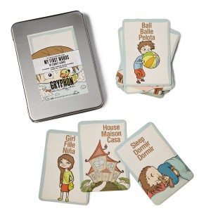 Travel Games for Kids: Tri-Lingual Card Games